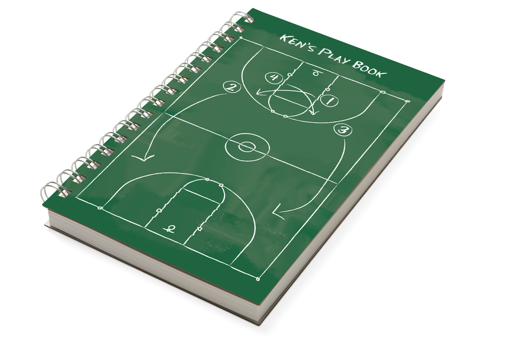Basketball Chunky Notebook - milogiftshop