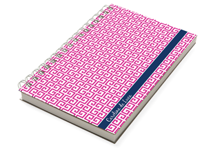 Crete Pink Chunky Notebook
