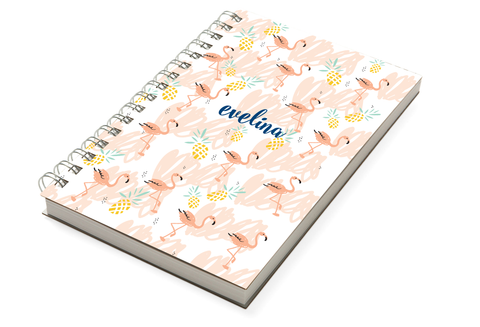 Flamingos Chunky Notebook