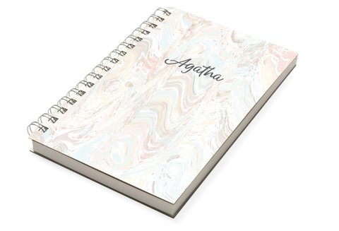 Marble Pale Chunky Notebook