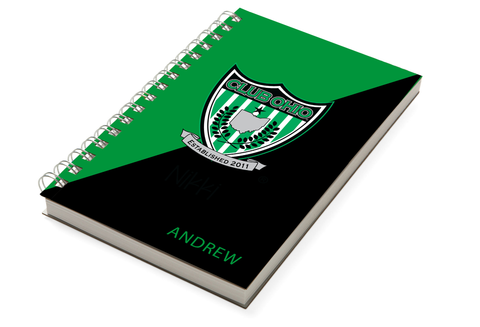 Club Ohio Soccer Two Tone Chunky Notebook