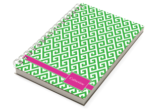 Santorini Green Chunky Notebook