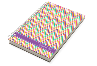 Zig Zagging Chunky Notebook