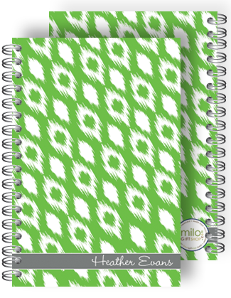 Trikat Green Chunky Notebook