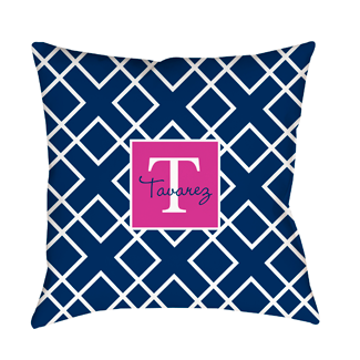 Avery Blue Indoor Pillow
