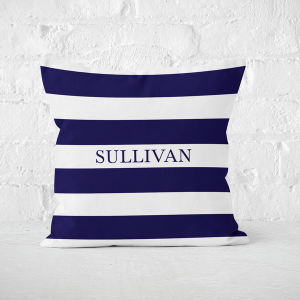 Blue Stripes Indoor Pillow