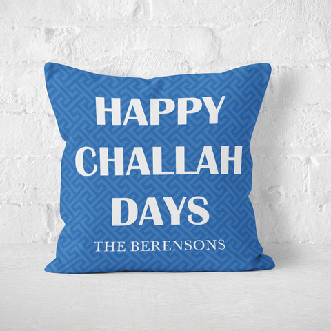 Happy Challah Days Indoor Pillow