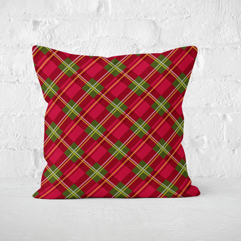 Holiday Plaid Indoor Pillow