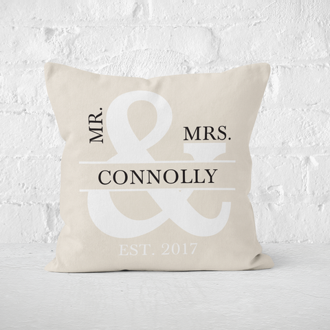 Mr & Mrs Tan Indoor Pillow