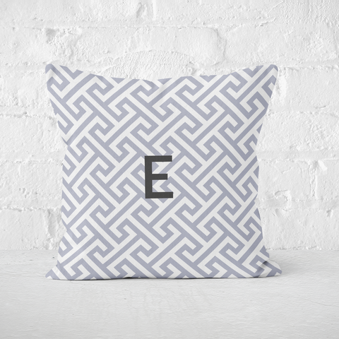 Mykonos Grey Indoor Pillow