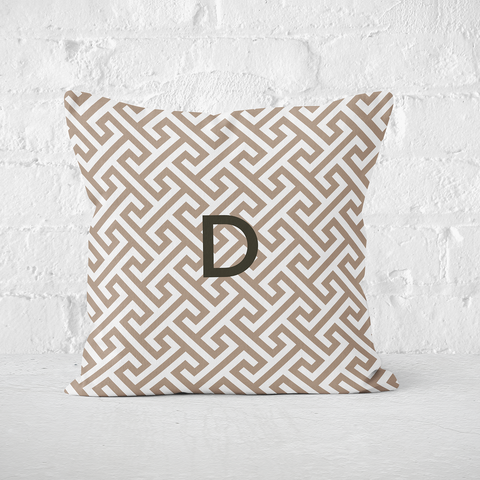 Mykonos Taupe Indoor Pillow