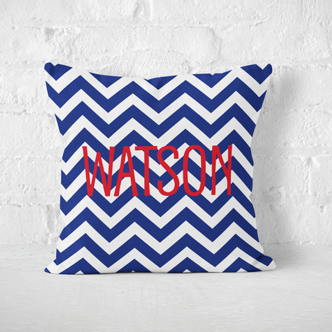 Chevron Nautical Indoor Pillow