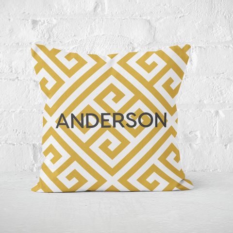 Paros Mustard Indoor Pillow