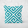 Paros Turquoise Indoor Pillow