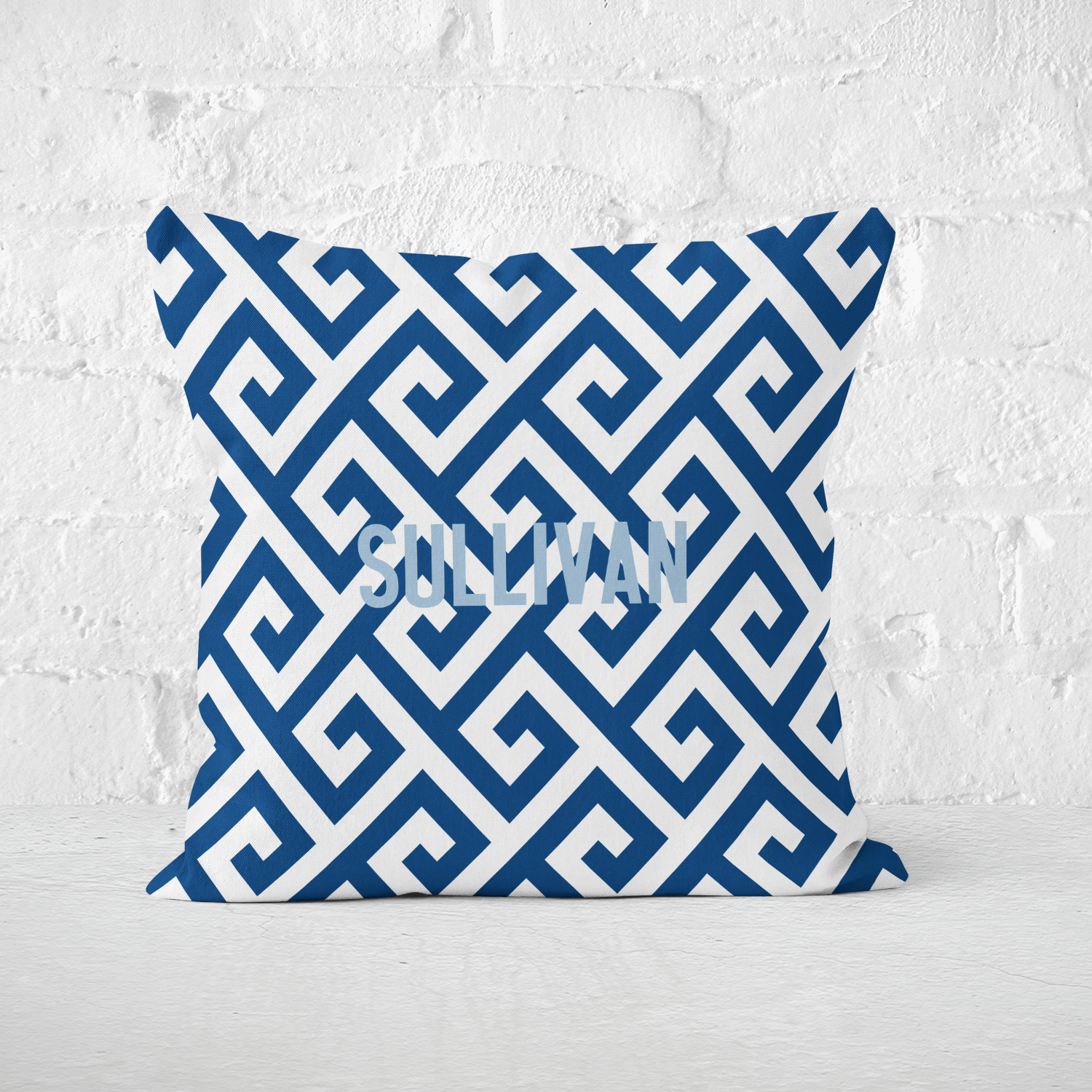 Santorini Indoor Pillow - milogiftshop