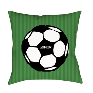 Soccer Ball Indoor Pillow
