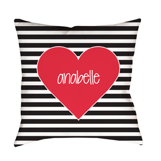 Urban Heart Indoor Pillow
