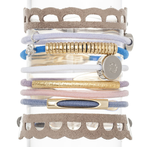 Charmed Hair Band Bracelet Stack
