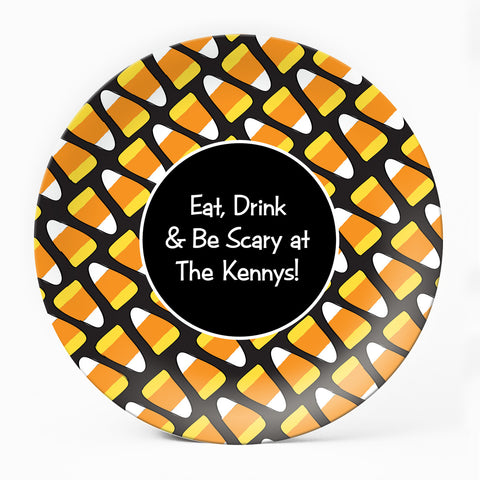 Candy Corn Plate