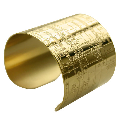 Chicago Gold Metro Cuff