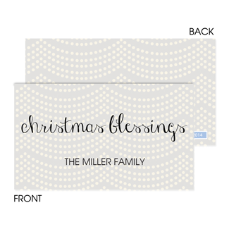 Holiday Trees Enclosure Card - milogiftshop