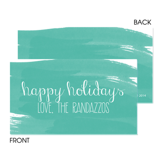 Painted Greeting Enclosure Card