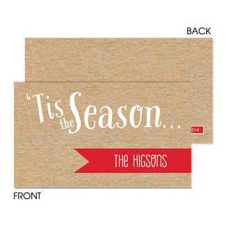 Tis the Season Enclosure Card - milogiftshop