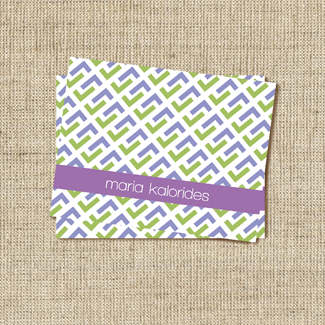 Cravate Lavender Stationery