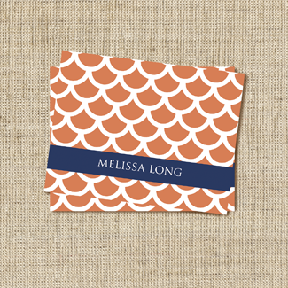 Nemo Tangerine Stationery