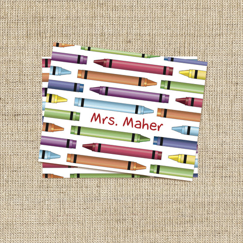 Crayons Stationery