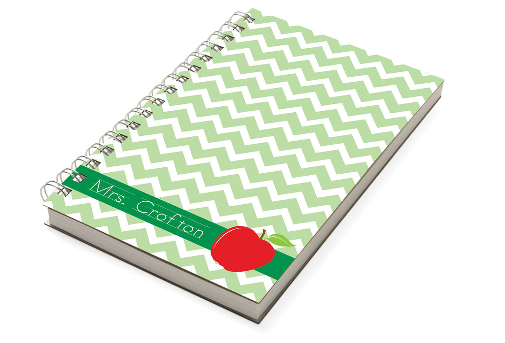 Apple Chevron Chunky Notebook - milogiftshop