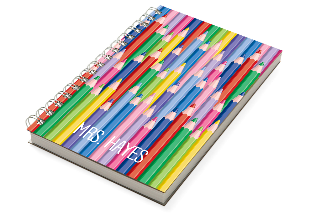 Colored Pencils Chunky Notebook - milogiftshop