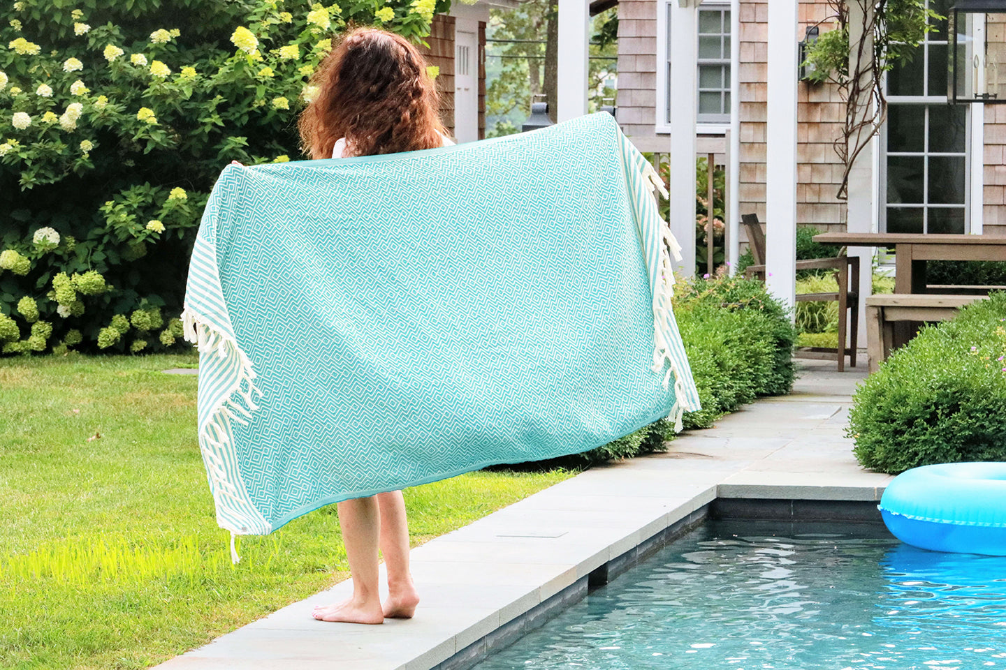 Diamond Aegean Quick Dry Peshtemal Turkish Towel - milogiftshop