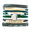Anchors Away Hair Band Bracelet Stack