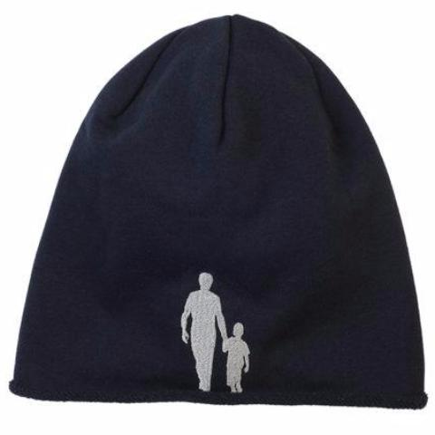 Midnight Blue Father & Son Beanie (Adults & Kids) - milogiftshop