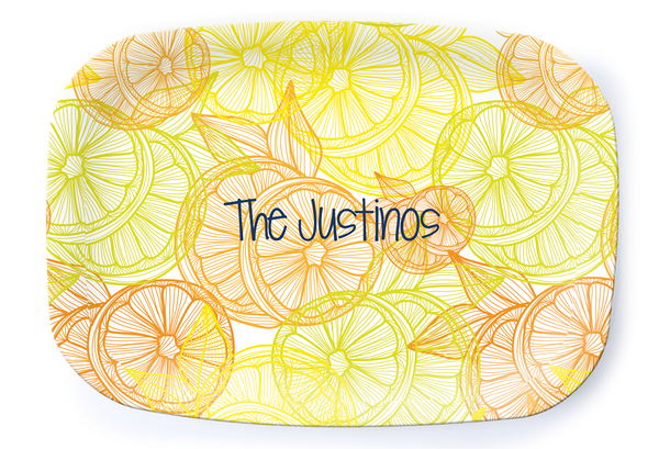 Lemon Slices Platter
