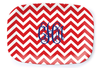 Nautical Chevron Platter