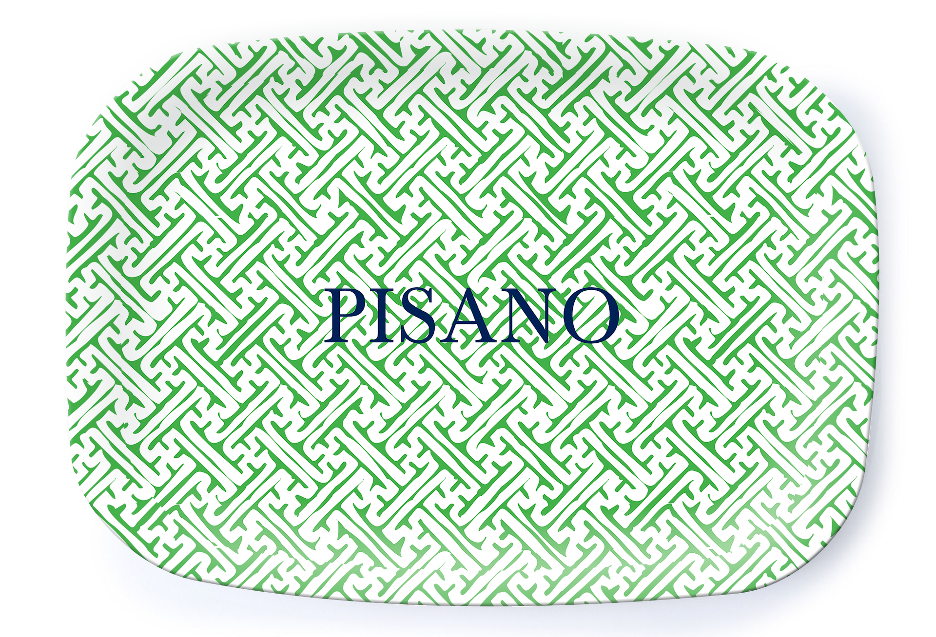 Naxos Green Platter - Multiple Personalization Options Available - milogiftshop