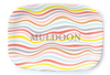Summer Swirl Platter - Multiple Personalization Options Available
