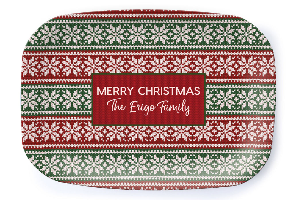 Christmas Sweater Platter - milogiftshop