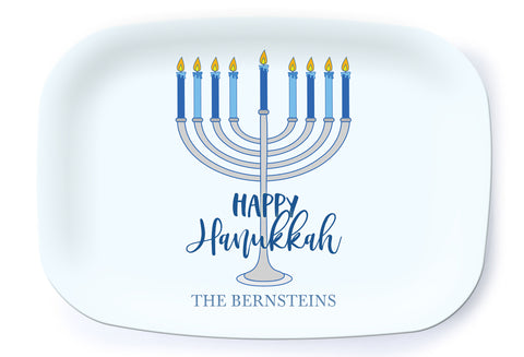Happy Hanukkah Platter