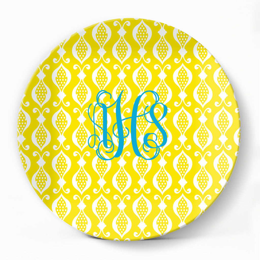 Theo Yellow Plate - milogiftshop