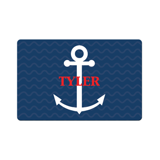 Anchor Blue Placemat