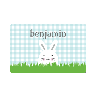 Bunny Blue Placemat
