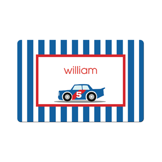 Race Car Placemat - milogiftshop
