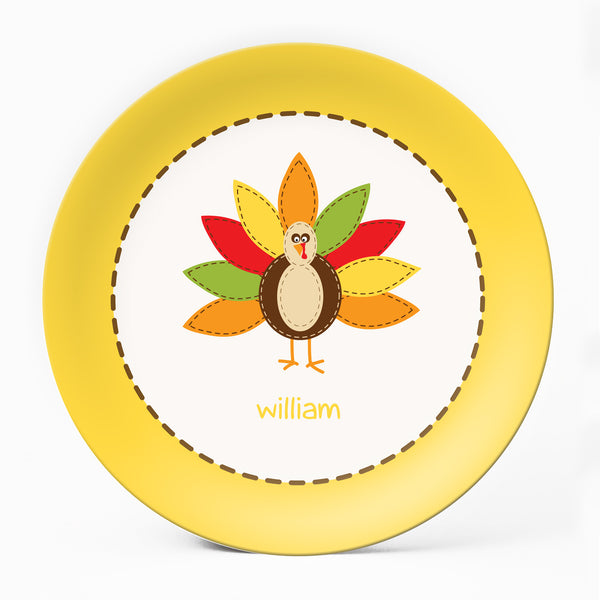 Turkey Yellow Plate