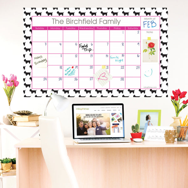 Aggie Large Monthly Calendar