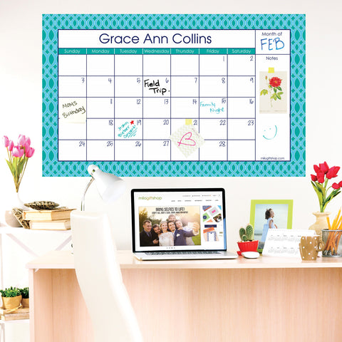 Elizabeth Large Monthly Calendar