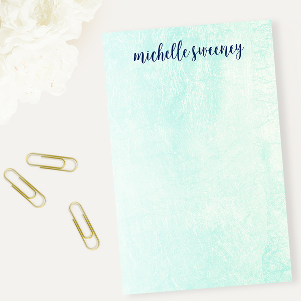 Aquarelle Notepad