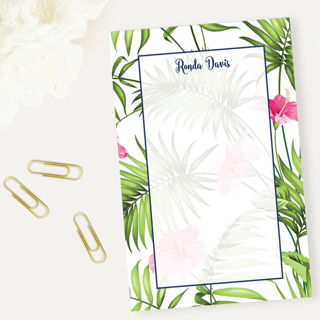 Palm Beach Notepad - milogiftshop